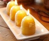 Large Beehive Candles make beautiful centerpiece - $5.25 each