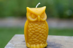 "Naturally scented Wise Old Owl. 4"" tall..... Available in green, natural, and brown...$5.25 each"